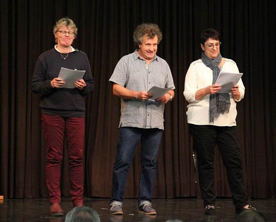 Les Théâtre du jeudi lors de la porte ouverte des 50 ans de l'association du foyer culturel